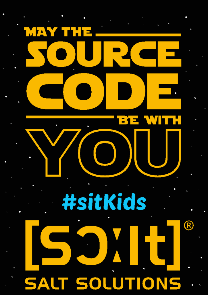 sitKids2017 may the source code be with you salt solutions